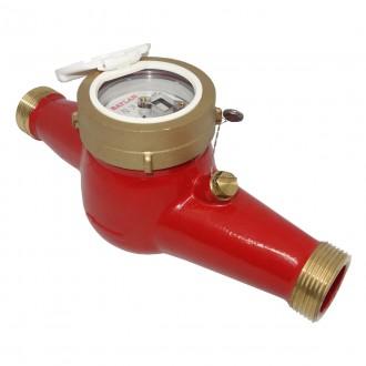 Счетчик горячей воды многоструйный Baylan TK-26S Ду 32 R=160 цена
