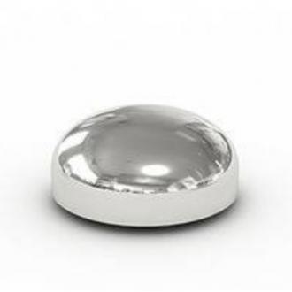 Заглушка эллиптическая приварная оцинкованная 26,9х2.6 цена