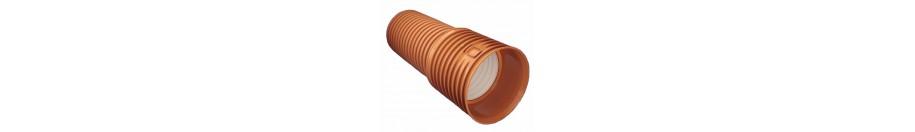 Гофрированные полипропиленовые трубы для наружной канализации