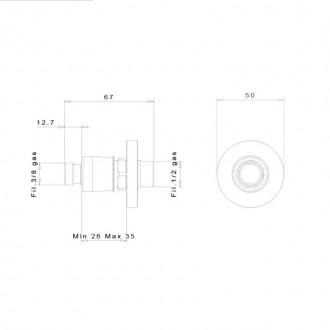 Быстросъемное соединение inGENIUS IG100R-3/8G без фильтра цена