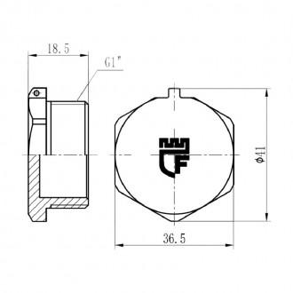 Заглушка SD Forte 1