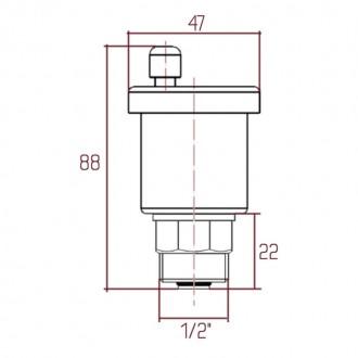 Воздухоотводчик автоматический Icma №707+710 цена