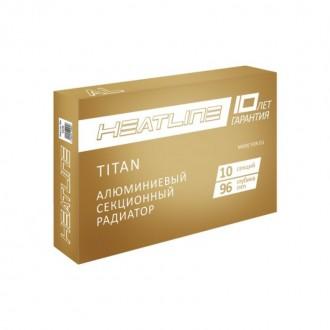 Радиатор алюминиевый Heat Line Titan 500х96 цена