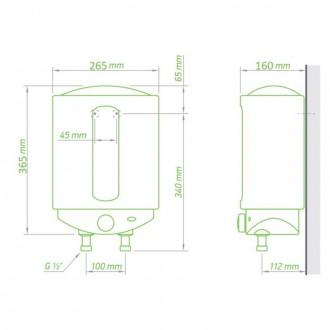 Водонагреватель Tesy Compact Line 6 л, 1,5 кВт GCA 0615 M01 RC цена