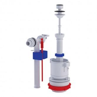 Арматура ANI Plast WC4050M с клапаном боковой подачи 1/2