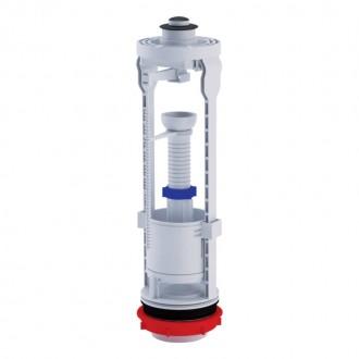 Арматура ANI Plast WC7030M без клапана, хромированная кнопка цена