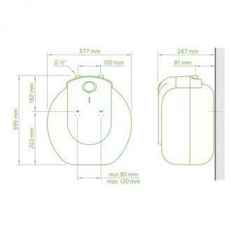 Водонагреватель Tesy Compact Line 10 л, 1,5 кВт GCU 1015 L52 RC цена