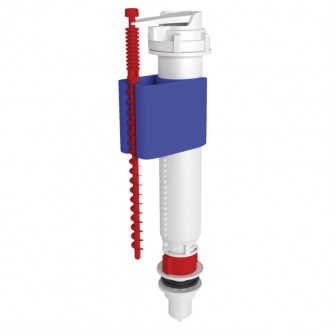 Впускной клапан ANI Plast WC5510 нижней подачи, пластиковое подключение 1/2