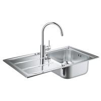 Набор кухонная мойка GroheEXSink31570SD0K400смесительConcetto32663001