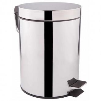 Ведро для мусора Q-tap Liberty 1149 CRM цена