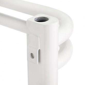 Водяной полотенцесушитель Q-tap Glory (WHI) P14 750x500 HY цена
