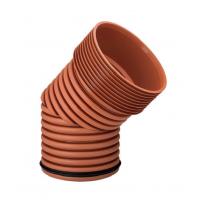 Колено гофрированное для наружной канализации InCor 160х15