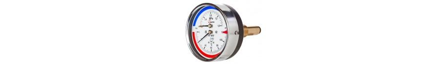 Термоманометры для отопления
